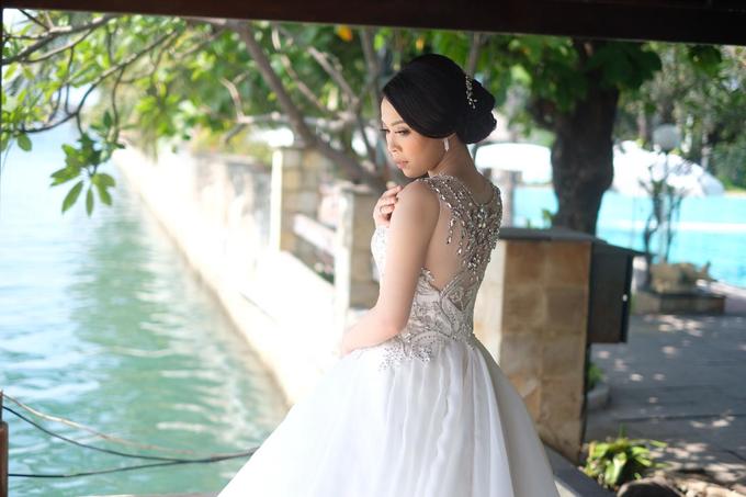 Hiro & Melisa Wedding by makeupbyyobel - 019