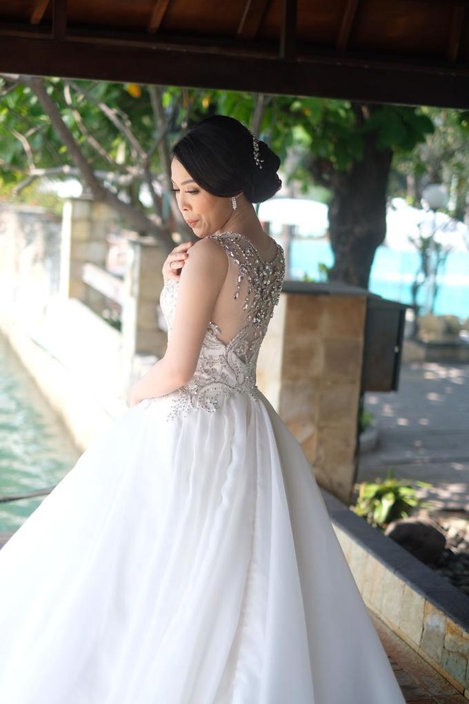 Hiro & Melisa Wedding by makeupbyyobel - 020
