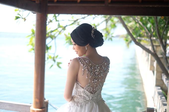 Hiro & Melisa Wedding by makeupbyyobel - 026