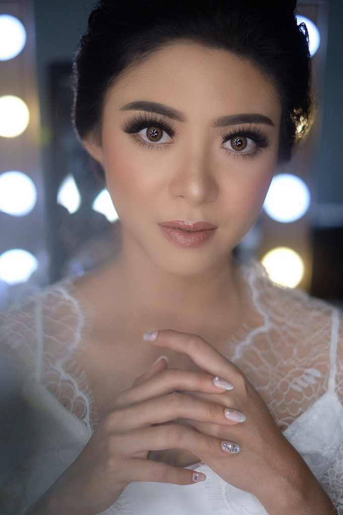 Makeup for Mrs. Melisa by makeupbyyobel - 013