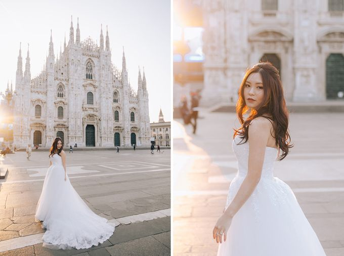 Bride Yuki - Convertible Ball Gown with a Sweetheart Neckline - Dentelle Bridal by The Wedding Barn Gallery - 013