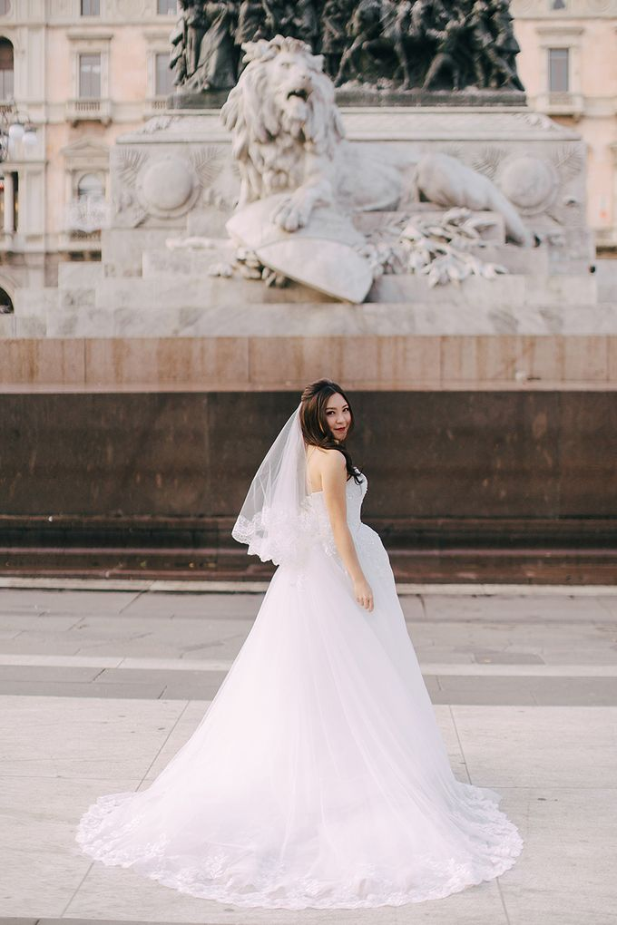 Bride Yuki - Convertible Ball Gown with a Sweetheart Neckline - Dentelle Bridal by The Wedding Barn Gallery - 006