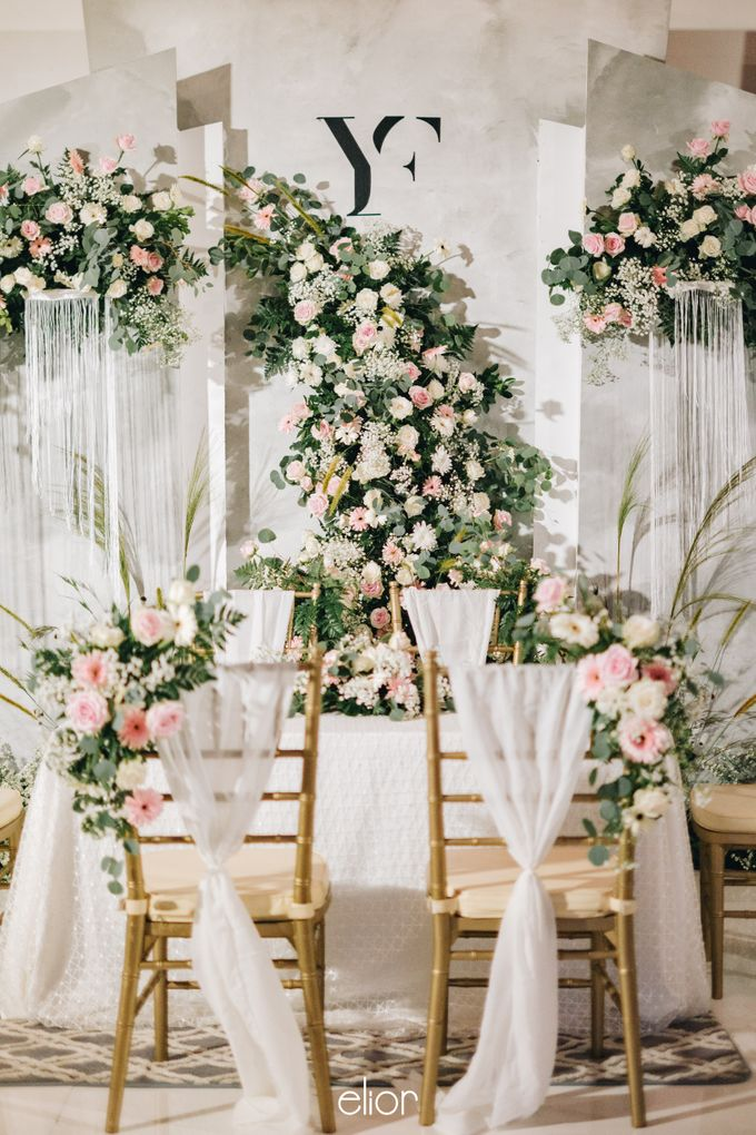 The Wedding of Yumiko and Faiz by Elior Design - 008