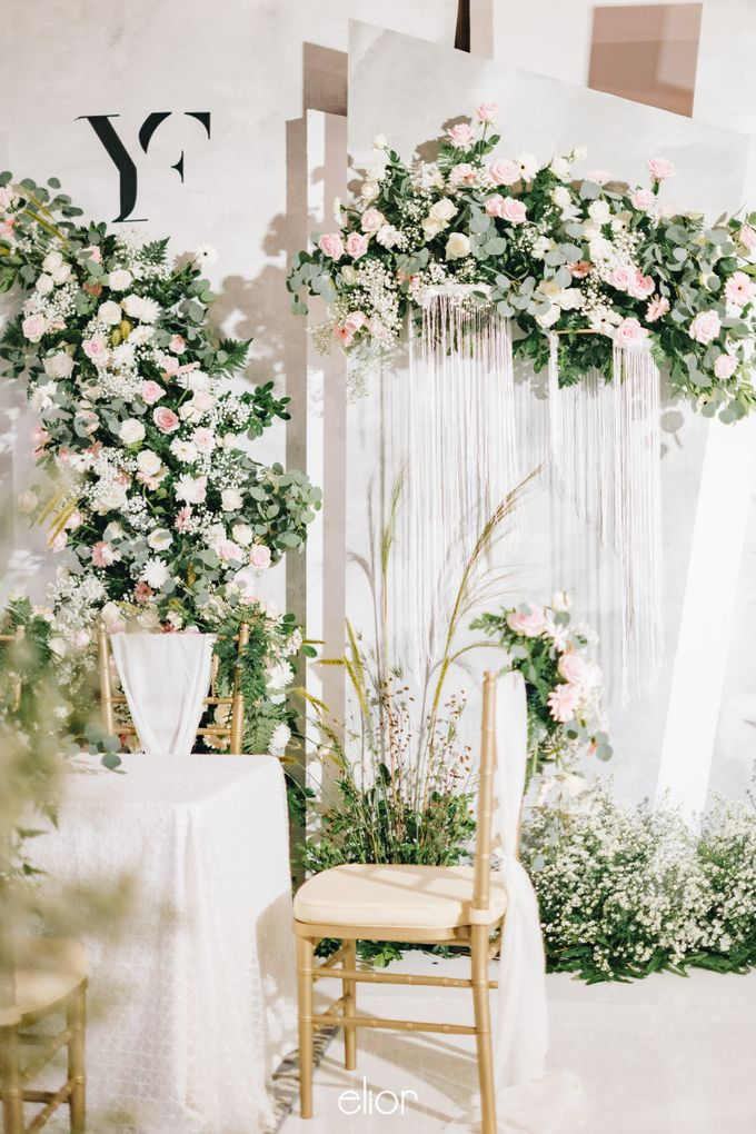 The Wedding of Yumiko and Faiz by Elior Design - 010
