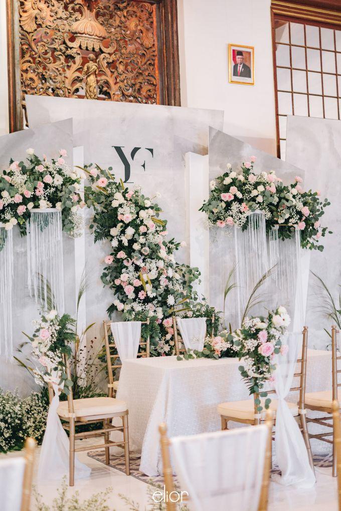 The Wedding of Yumiko and Faiz by Elior Design - 011