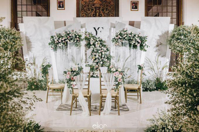 The Wedding of Yumiko and Faiz by Elior Design - 005