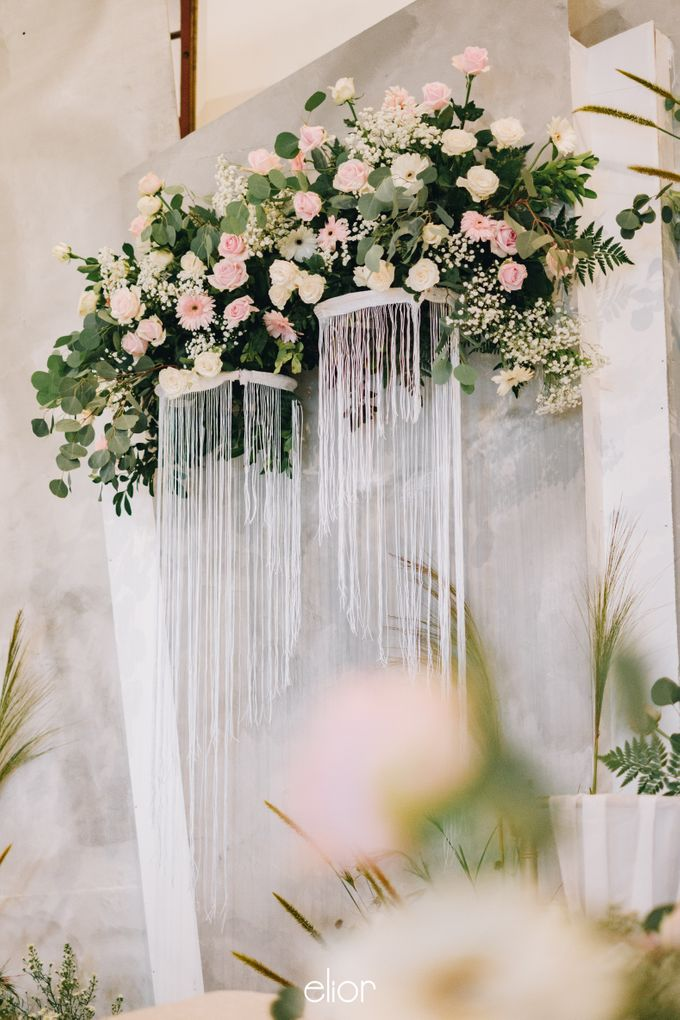 The Wedding of Yumiko and Faiz by Elior Design - 012
