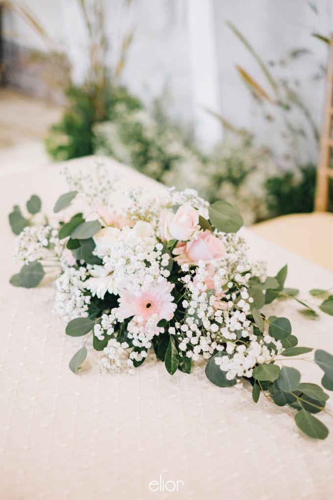 The Wedding of Yumiko and Faiz by Elior Design - 013
