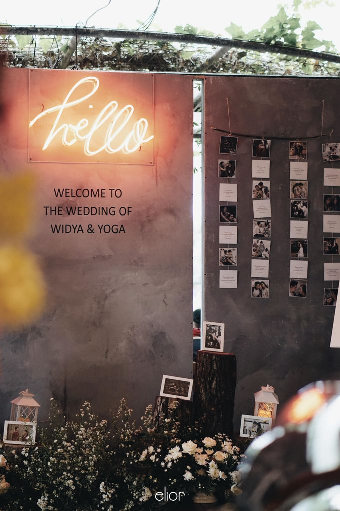 Intimate Wedding with Neon Accent for Yoga & Widya by Elior Design - 010
