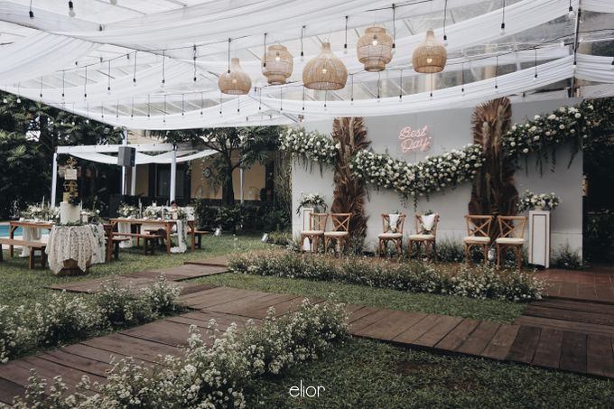 Intimate Wedding with Neon Accent for Yoga & Widya by Elior Design - 022