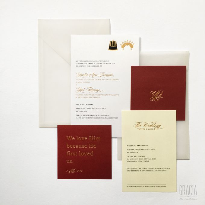 Yovita & Yoel by Gracia The Invitation - 002