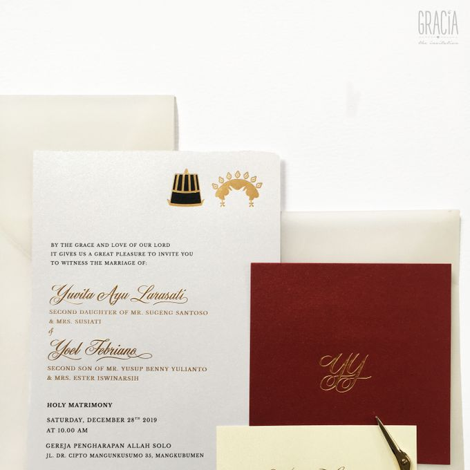 Yovita & Yoel by Gracia The Invitation - 003
