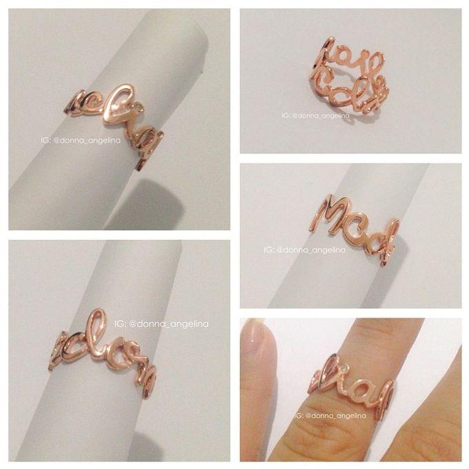 Name & Initial by DA Jewelry - 013