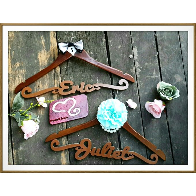 Wedding Hanger Name by Sweetlovecollection - 035