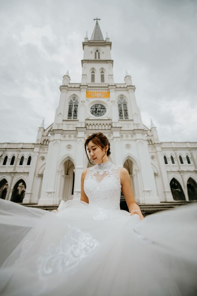 Chijmes Wedding by GrizzyPix Photography - 002