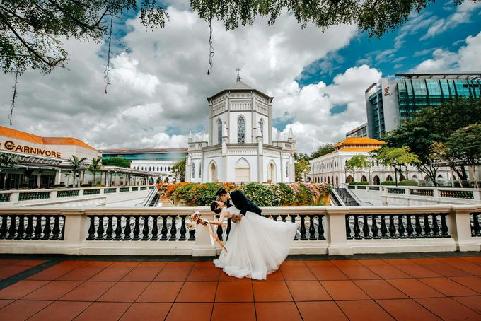Chijmes Wedding by GrizzyPix Photography - 001