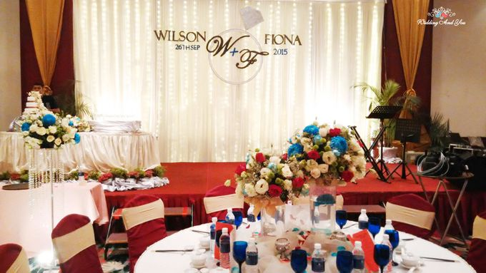 Stage Backdrop Design by Wedding And You - 012