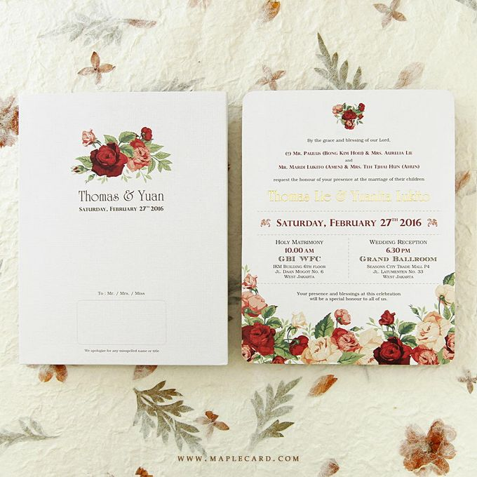 Invitation Collection 003 by MapleCard - 033