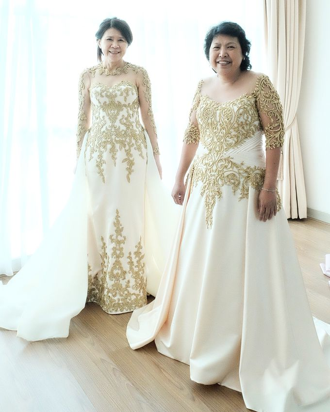 Family Gowns (Mother / Sister Gown) by GV by Gabriella Vania - 040