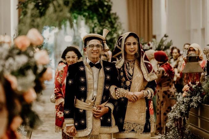 Zanita & Ugrasena Wedding Reception at The Allwynn by AKSA Creative - 009
