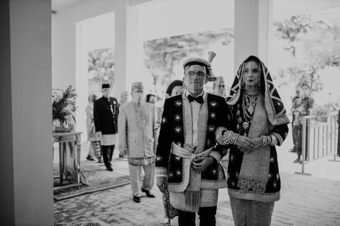 Zanita & Ugrasena Wedding Reception at The Allwynn by AKSA Creative - 010