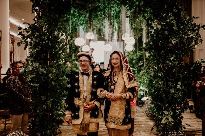 Zanita & Ugrasena Wedding Reception at The Allwynn by AKSA Creative - 007