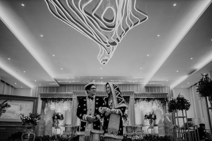 Zanita & Ugrasena Wedding Reception at The Allwynn by AKSA Creative - 008