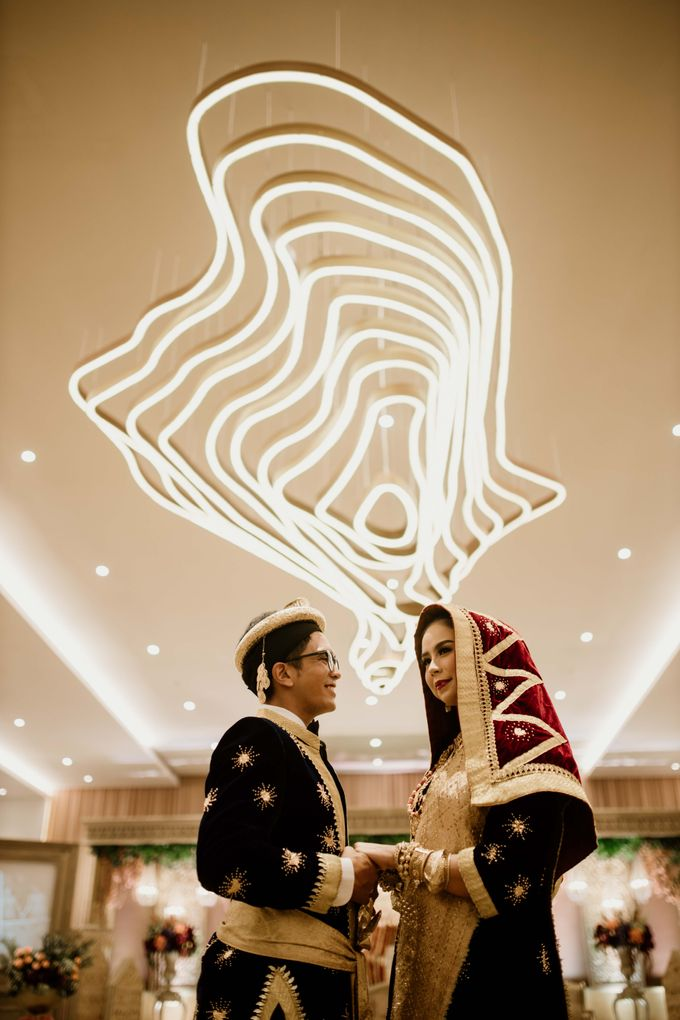 Zanita & Ugrasena Wedding Reception at The Allwynn by AKSA Creative - 005