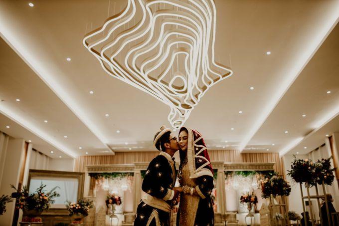 Zanita & Ugrasena Wedding Reception at The Allwynn by AKSA Creative - 006