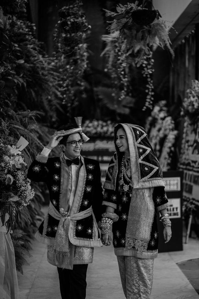 Zanita & Ugrasena Wedding Reception at The Allwynn by AKSA Creative - 004