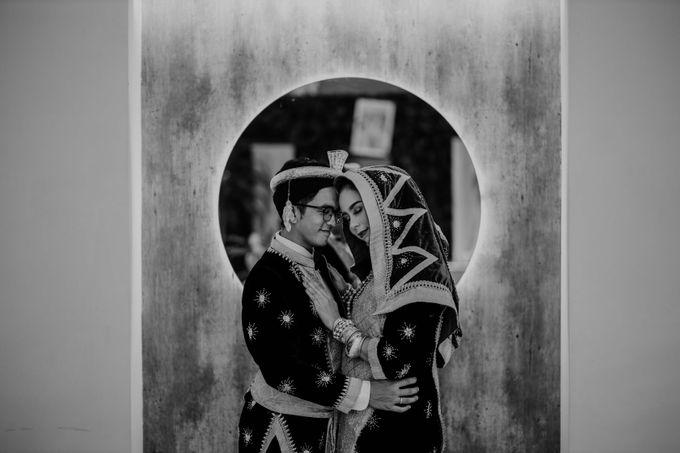 Zanita & Ugrasena Wedding Reception at The Allwynn by AKSA Creative - 001