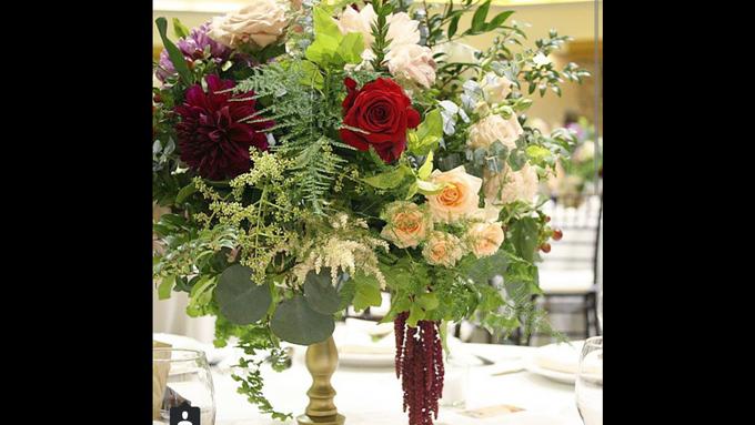 Romantic Wedding by Esmae Event Floral Design - 004