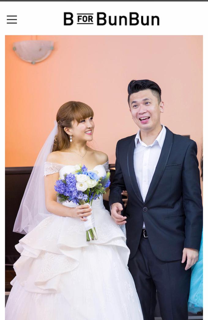 Bridal hairdo & Makeup by Zenmakeup - 001