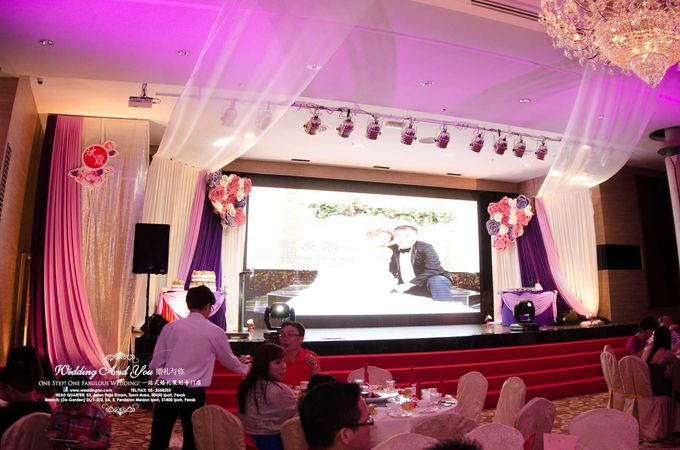 Stage Backdrop Design by Wedding And You - 022