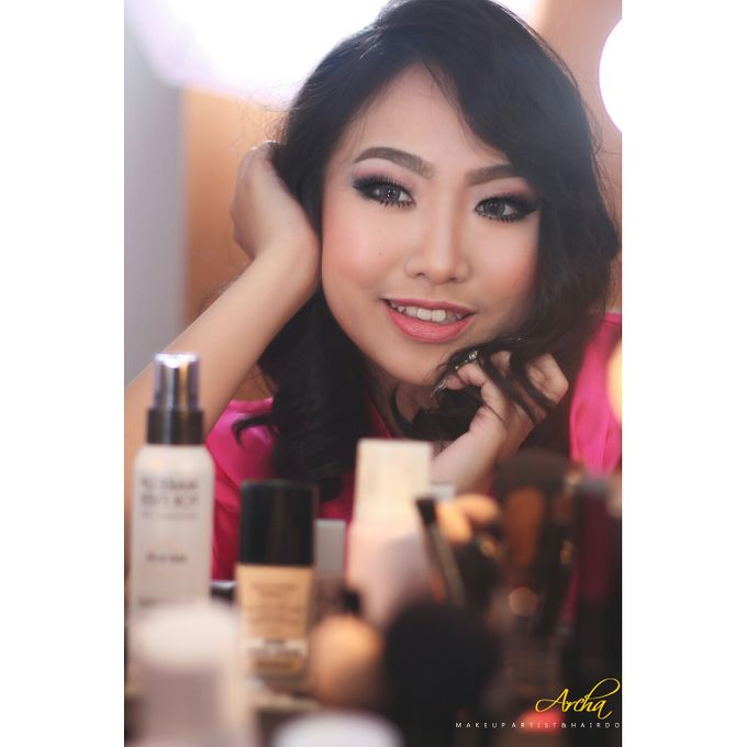 My Bridal Makeup by Archa makeup artist - 001