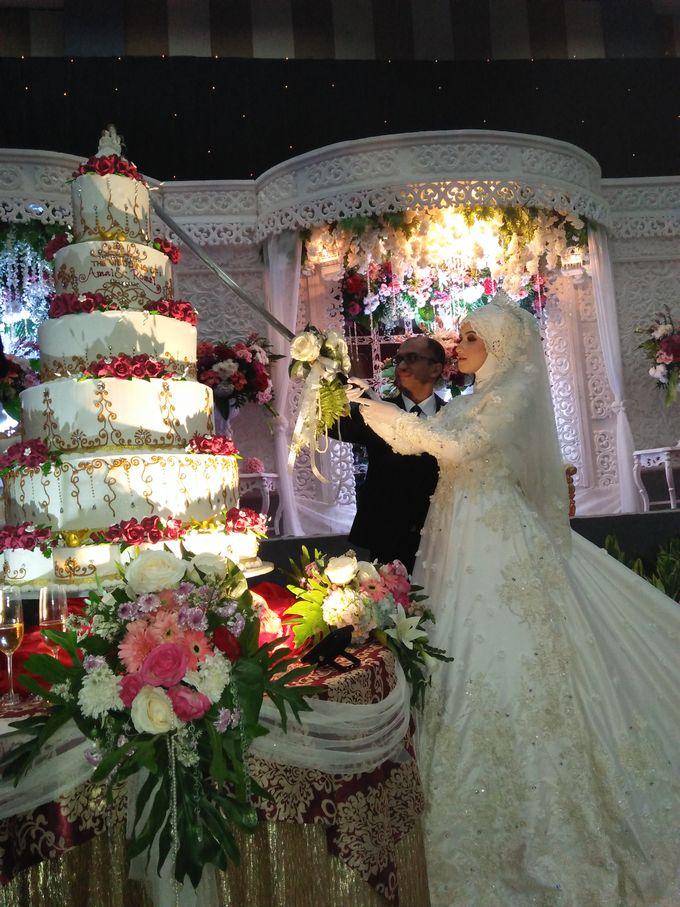The Wedding Of Amal & Romzi by Uci Bakery - 003