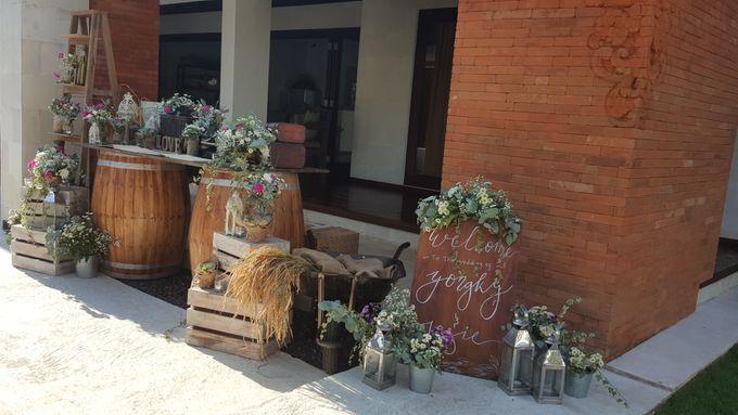 Sunset Garden Party by d'Oasis Florist & Decoration - 001