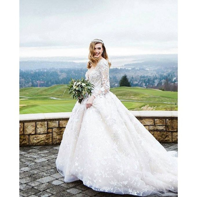New Castle Wedding by MeaMarie Bridal Atelier - 006