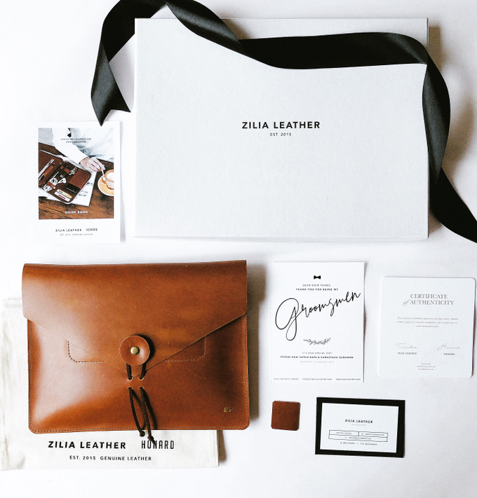 Bridesmaid & Groomsmen Gift by Zilia Leather - 002