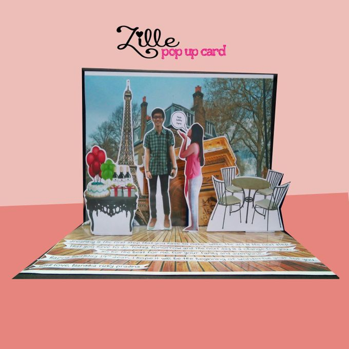 Zille Pop Up Card by Zille Pop Up Card - 001