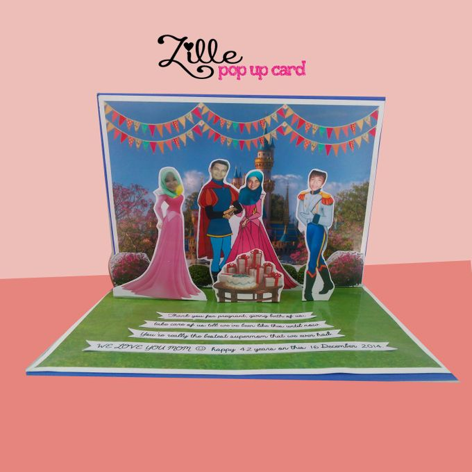 Zille Pop Up Card by Zille Pop Up Card - 003
