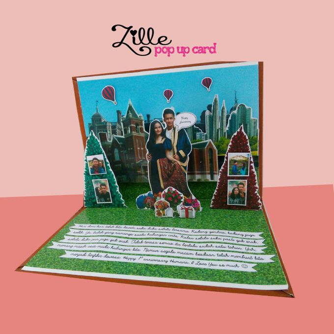 Zille Pop Up Card by Zille Pop Up Card - 005