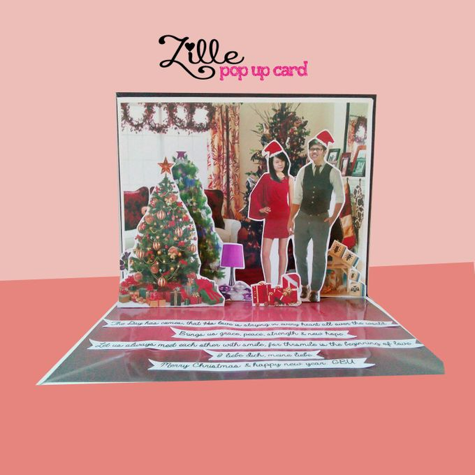 Zille Pop Up Card by Zille Pop Up Card - 007