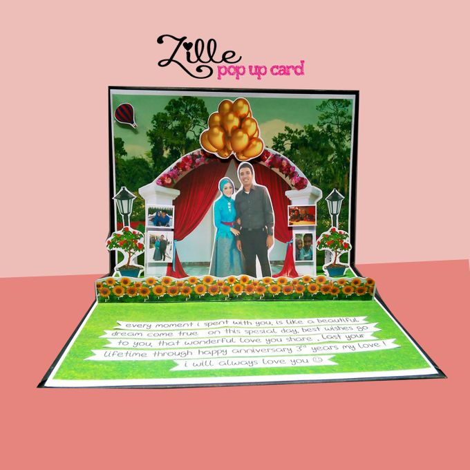 Zille Pop Up Card by Zille Pop Up Card - 009