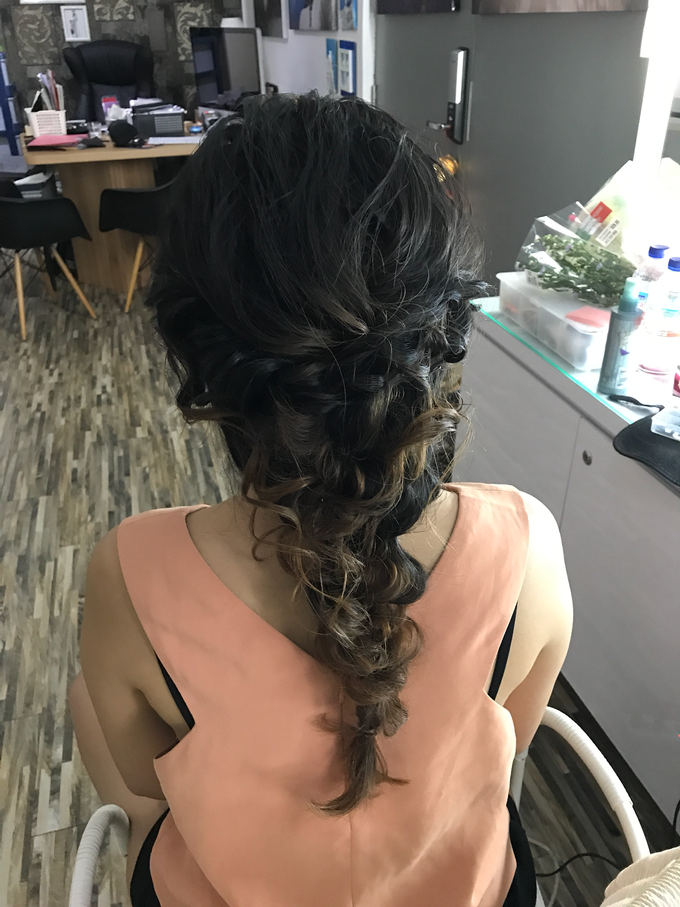Bridal Hairstyles  by Zinny Theint Make-up Artistry - 013