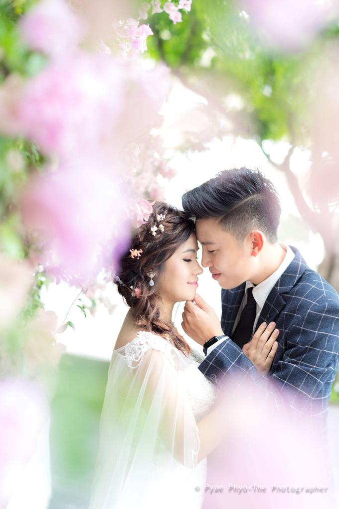 ZA & KSYS prewedding  by Zinny Theint Make-up Artistry - 002