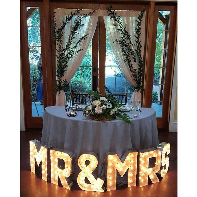 Rustic Wedding by Esmae Event Floral Design - 002