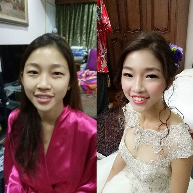 Bridal Makeovers by Star Glamour Artistry Pte Ltd - 005