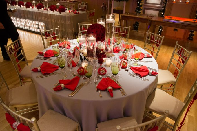 Luxury Christmas Red & Gold Wedding by Diamond Events - 046