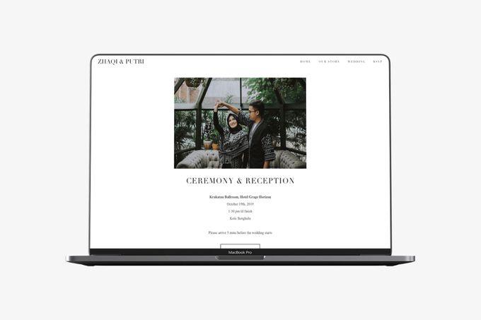 WEDDING WEBSITE - ZHAQI & PUTRI by Our Days & Co - Wedding Website Design - 003